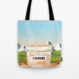 Travel Jar Tote Bag