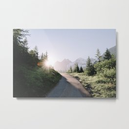Morning Hike Metal Print