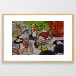 You'll Eat It And You'll Like It Framed Art Print