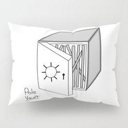 Pole vault Pillow Sham