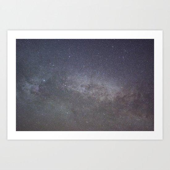 Cygnus and the North American nebula Art Print