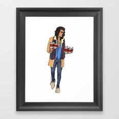 Coffee Haz Framed Art Print