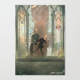 A New Court Canvas Print