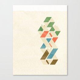 Parallelogram: Suits Canvas Print