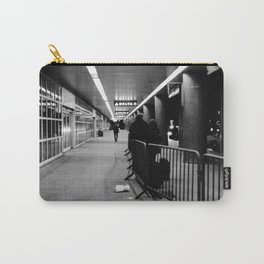 LGA Black & White Carry-All Pouch