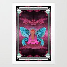 buddherfly #1 Art Print