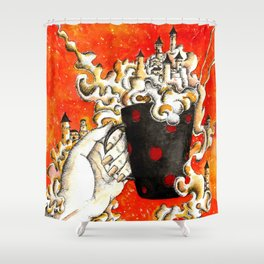 Cup of fantasy Shower Curtain