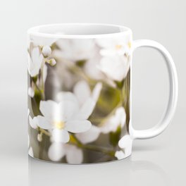 Tiny White Flowers in Garden #decor #society6 #buyart Coffee Mug