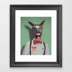 JACKASS Framed Art Print