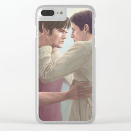 Nothing is worth losing you. Clear iPhone Case