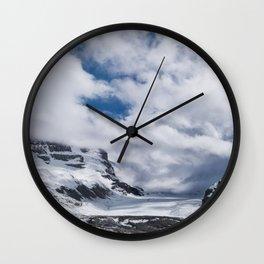 Jasper Glacier Wall Clock