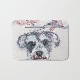 My dog groomer   By Sarah Cannon Bath Mat