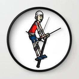 Pogo Wall Clock