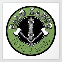 Palo Santo Art Print