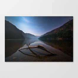 Glendalough at Night - Ireland | Print (RR 265) Canvas Print