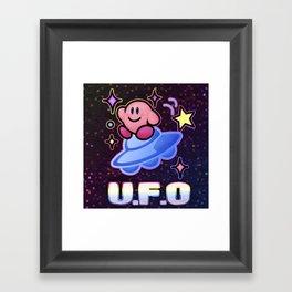 Kirby UFO Framed Art Print