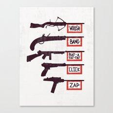 A Brief History of Non-Violence Canvas Print