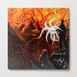 kyuubi Metal Print