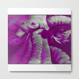 Cthulhu v 3 Metal Print