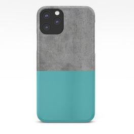 Concrete x Blue iPhone Case