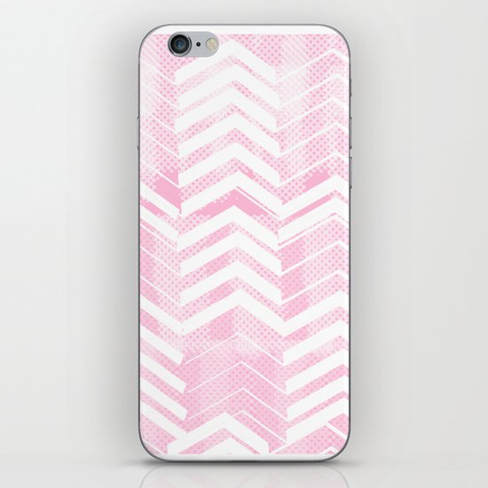 Pretty in Pink Chevron iPhone & iPod Skin