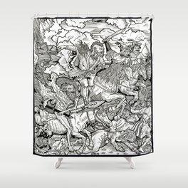 Cromnarok. Shower Curtain
