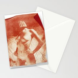 Pola nude Stationery Cards