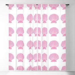 Light Pink Seashell Blackout Curtain