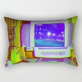 Old Computer Rectangular Pillow