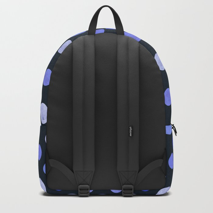 Watercolor Dots Pattern X Backpack