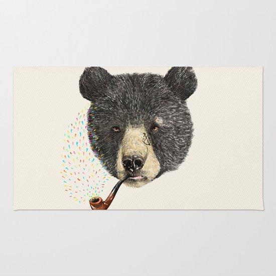 BLACK BEAR SAILOR Rug