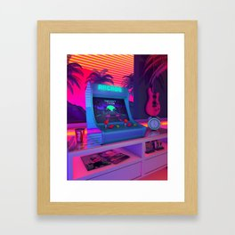Arcade Dreams Framed Art Print