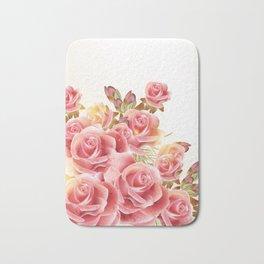 Dreaming of Roses Bath Mat