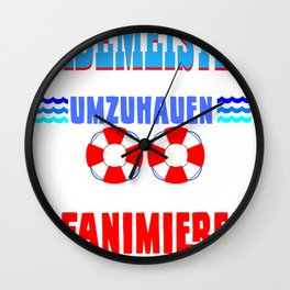 Lifeguard is a passion You have to love it! Wall Clock