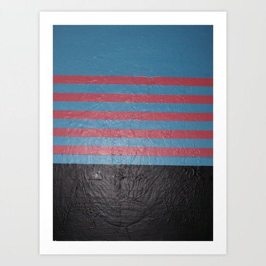 A B C Art Print
