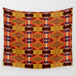 Lily and Blackberries Wall Tapestry