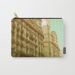 We Both Go Down (Retro and Vintage Urban, architecture photography) Carry-All Pouch