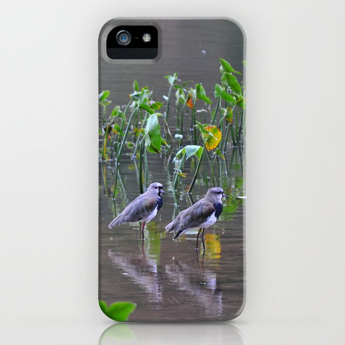 Relaxing on the lake iPhone Case