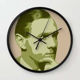 Patrick White Wall Clock
