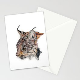 Curious lynx Stationery Cards