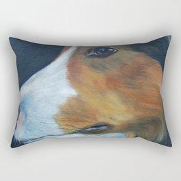 Sheltie Shetland Sheepdog Art Rectangular Pillow