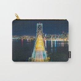 Treasure Island view of the Bay Bridge - San Francisco, CA Carry-All Pouch