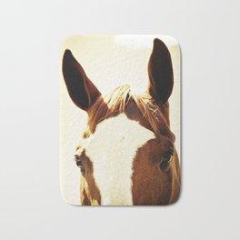 Quarter Horse Portrait Bath Mat