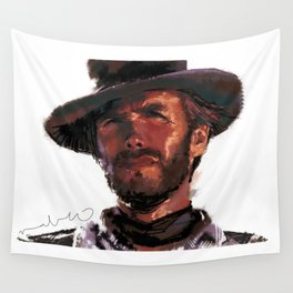 The Good - Clint Eastwood Wall Tapestry