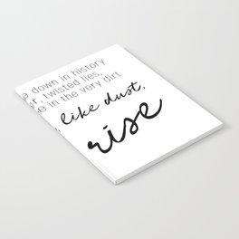 I'll rise #minimalism Notebook