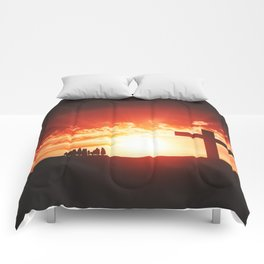 Good friday easter concept Comforters