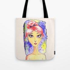 Isabella Watercolor Tote Bag