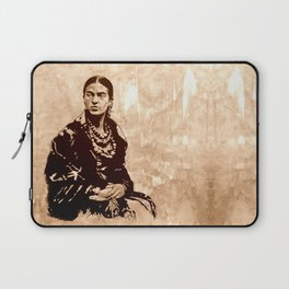 FRIDA - the mistress of ARTs - sepia version Laptop Sleeve