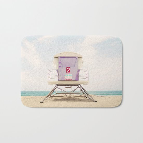 Lifeguard Tower 2  Bath Mat