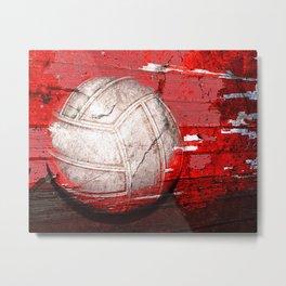Volleyball vs 3 Metal Print